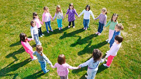 Giochi di gruppo per bambini