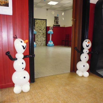Allestimento Frozen Olaf